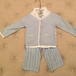 3 Piece Sweater Set for Boys NWT